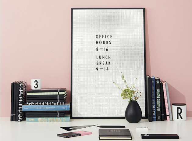 Design Letters Message Board A2